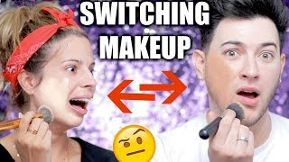 Download ME AND MY BEST FRIEND SWITCH MAKEUP! Video