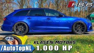 Download 1000HP AUDI RS6 Klasen Motors REVIEW POV on AUTOBAHN by AutoTopNL Video