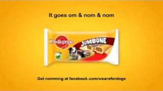 Download Pedigree Jumbone - Om Nom Nom TV advert w/ Nick Frost Video