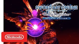 Download SWORD ART ONLINE: Hollow Realization - Deluxe Edition - Announcement Trailer - Nintendo Switch Video