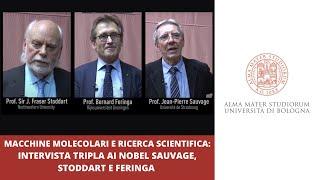 Download Macchine molecolari e ricerca scientifica: intervista tripla ai Nobel Sauvage, Stoddart e Feringa Video