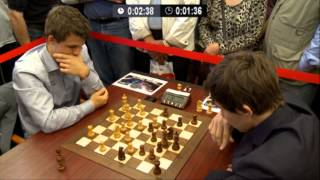 Download ♚ GM Magnus Carlsen vs GM Sergey Karjakin Chess Blitz Tal Memorial Round 6 Video