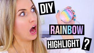 Download Pinterest Hacks TESTED #12 || DIY Rainbow Highlight?! + Wearable Option! Video