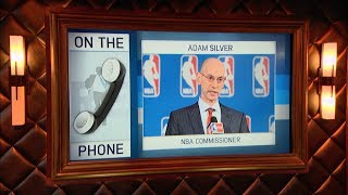 Download NBA Commission Adam Silver Talks Sports Betting, Resting Star Players & More - 7/24/17 Video