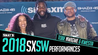 Download Tobe Nwigwe and Kwesta Light Up The Sway In The Morning 2018 SXSW Stage Video