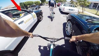Download RIDING BMX IN LA COMPTON GANG ZONES 4 (CRIPS & BLOODS) Video