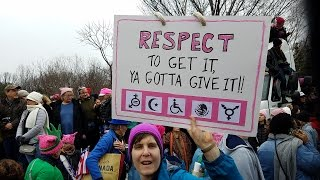Download Women's March signs make a statement Video