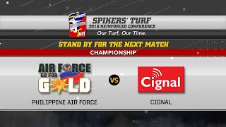 Download July21: Spikers' Turf 2019 Reinforced Conference Finals Game02: CIGNAL HD SPIKERS vs PHIL. AIR FORCE Video
