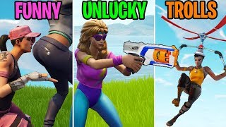 Download When Your Gun Gets NERFED! FUNNY vs UNLUCKY vs TROLLS - Fortnite Battle Royale Funny Moments Video