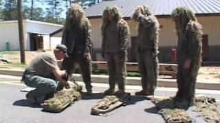 Download Sniper School at Fort Benning: Ghillie Suit Video