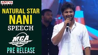 Download Hero Nani Speech @ MCA Pre Release Event || Nani, Sai Pallavi || DSP Video