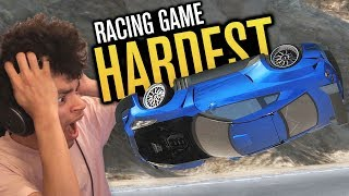 Download THE HARDEST RACING GAME?! Video