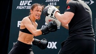 Download UFC on FOX 24: Michelle Waterson Open Workout (Complete) - MMA Fighting Video