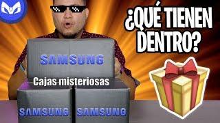 Download SAMSUNG ME MANDO 3 PAQUETES MISTERIOSOS Y NO SON BOCINAS ! Video
