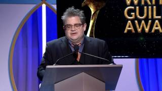Download Host Patton Oswalt's 2017 Writers Guild Awards Opening Monologue Video