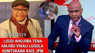 Download Breaking: Bila Uoga Tena TUNDU LISSU Ahojiwa Amjibu Vikali Kangi Lugola Kumtukanà JPM Video