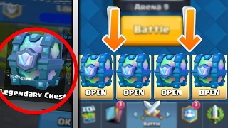 Download 4 Ways to Get a LEGENDARY CHEST in Clash Royale! Video