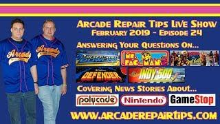 Download Arcade Repair Tips - Live Show - Episode 24 Video