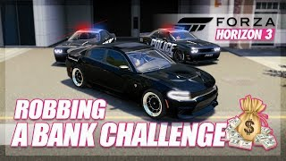 Download Forza Horizon 3 - Bank Robbery Challenge! (Build & Chase) Video