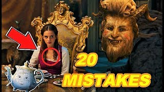 Download 😱 20 BIGGEST MISTAKES - BEAUTY AND THE BEAST (2017) Video