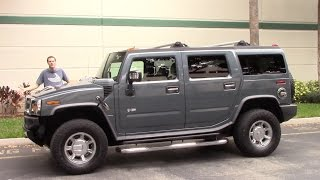 Download The Hummer H2 Is the Most Embarrassing Vehicle You Can Drive Video