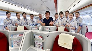 Download Hainan Airlines 5 Star Business Class Experience Video