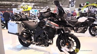 Download 2017 Suzuki V Strom 1000 Customized by Touratech - Walkaround - 2016 EICMA Milan Video