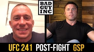 Download Georges St-Pierre responds to Nate Diaz callout... Video