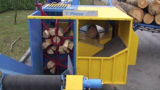 Download PINOSA EPC 400 WORLDS FASTEST FIREWOOD PROCESSOR ***PREVIEW*** BRENNHOLZ BOIS DE CHAUFFAGE Video