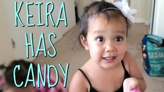 Download When Keira has Candy! - July 29, 2016 - ItsJudysLife Vlogs Video
