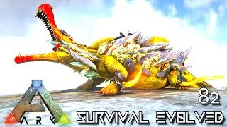 Download ARK: SURVIVAL EVOLVED - TEK SARCO DRAGON MANTICORE EMPERORS FOREWORLD MYTH E82 (MOD EXTINCTION CORE) Video