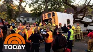 Download Bus Crash In Tennessee Kills At Least 5 Children, Injures Dozens; Driver Arrested | TODAY Video
