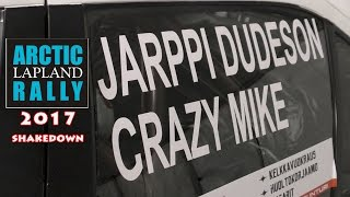 Download Jarppi Dudeson ja Crazy Mike - Arctic Lapland Rally 2017 shakedown Video