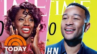 Download Time's 100 Most Influential People: Viola Davis, President Trump, Simone Biles | TODAY Video