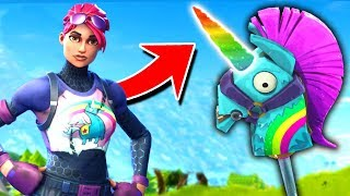 Download The *SECRET* RAINBOW UNICORN In Fortnite Battle Royale Video