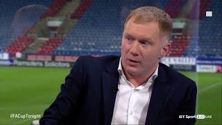 Download Paul Scholes explains his secret Manchester United comeback on FA Cup Tonight Video