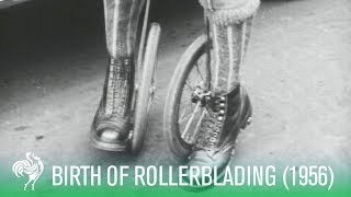 Download The Birth of Rollerblading: Cycle-Skating (1923) | Sporting History Video
