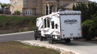 Download Dodge Cummins lifted truck and 5th wheel toy hauler Part 1 Video