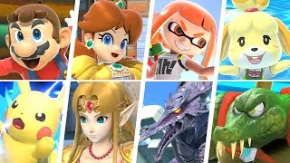 Download Super Smash Bros Ultimate - All 74 Characters Gameplay + Final Smashes Video