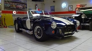 Download Start up a Real 427 Shelby Cobra from 1965? Let's do it! on My Car Story with Lou Costabile Video