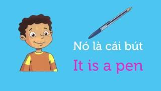 Download Tiếng Anh Trẻ Em lớp 1 Phần 1 Bài ngữ pháp: Đặt câu hỏi Cái gì đây Video