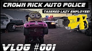 Download Crown Rick Auto Police VLOG #1 Tasered Lazy Employee From Ford Crown Victoria Network Video