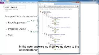 Download Expert Systems lesson 2 - What makes up an Expert System Video
