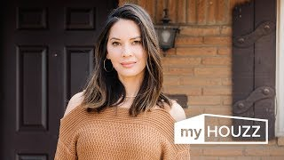 Download My Houzz: Olivia Munn's Surprise Renovation for Her Mom Video