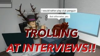 Download ROBLOX TROLLING AT HILTON INTERVIEWS AND PASSED! Video
