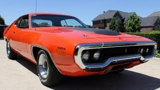 Download 1971 Plymouth Road Runner 440 6 Pack For Sale Video