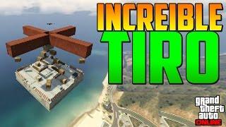 Download INCREÍBLE TIRO!!!! - Gameplay GTA 5 Online Funny Moments (GTA V PS4) Video