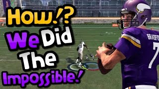 Download EVERYONE THOUGHT THAT THIS WAS IMPOSSIBLE!! Crazy Madden 17 Gauntlet Gameplay Video