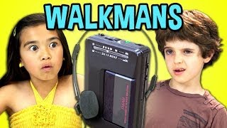 Download KIDS REACT TO WALKMANS (Portable Cassette Players) Video