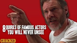 Download 8 Quirks Of Famous Actors You Will Never Unsee - The Spit Take Video